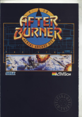 Afterburner BookletCrash60-1