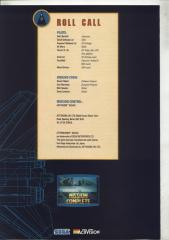 Afterburner BookletCrash60-6