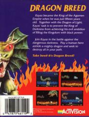 DragonBreed Back