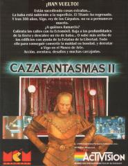 GhostbustersII(CazafantamasII)(MCMSoftwareS.A.) 2Back