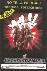 GhostbustersII(CazafantamasII)(MCMSoftwareS.A.) MiniAdvert-Front