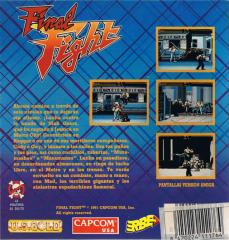 FinalFight(ErbeSoftwareS.A.) Back