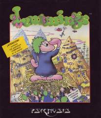 Lemmings(DroSoft) Front