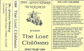 LostChildrenThe(AdventureWorkshop) Inlay