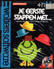 FirstStepsWithTheMrMen(JeEersteStappenMetMrMen-DeHoedenVanMeneerMalloot)(WoltersSoftware) Front