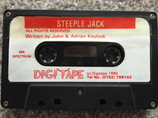 SteepleJack(DigiTape) cassette