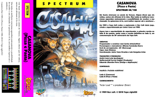 Casanova(TopoSigloXXI)(Portuguese) Front