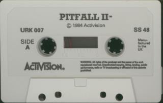 PitfallII-LostCaverns Tape