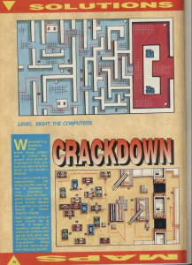 CrackDown Level8