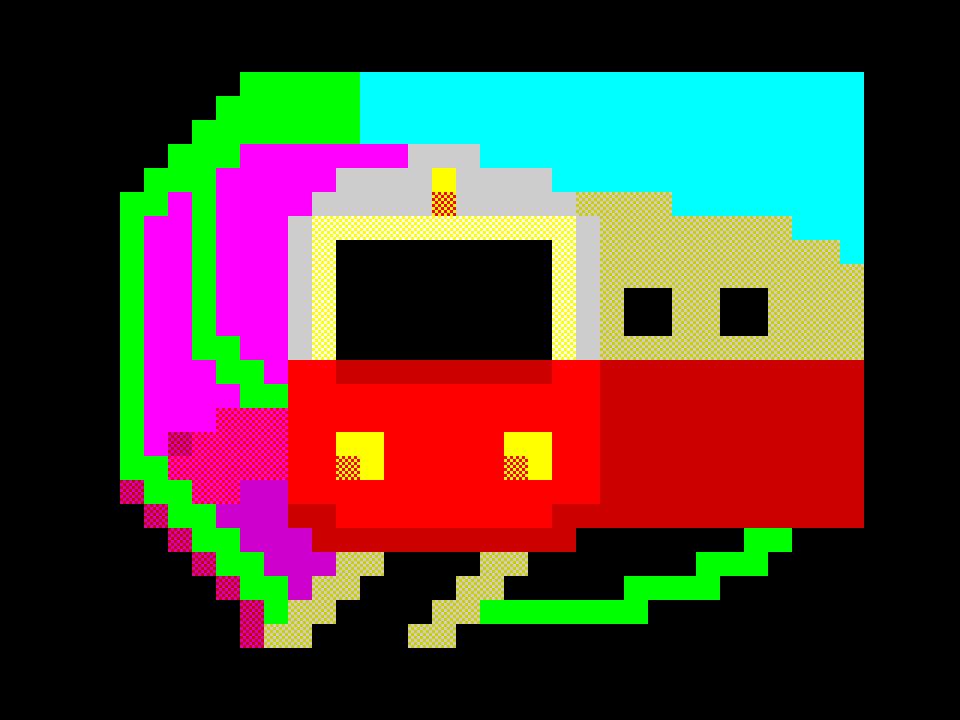 Train entering the Chaos