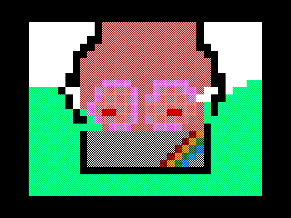 Girl in speccy
