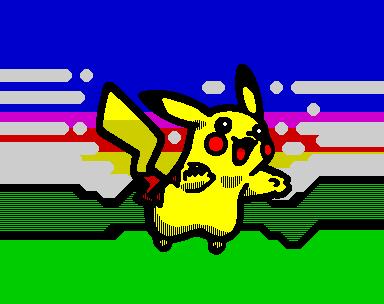 Pikachu (w/ border) (Pikachu (w/ border))