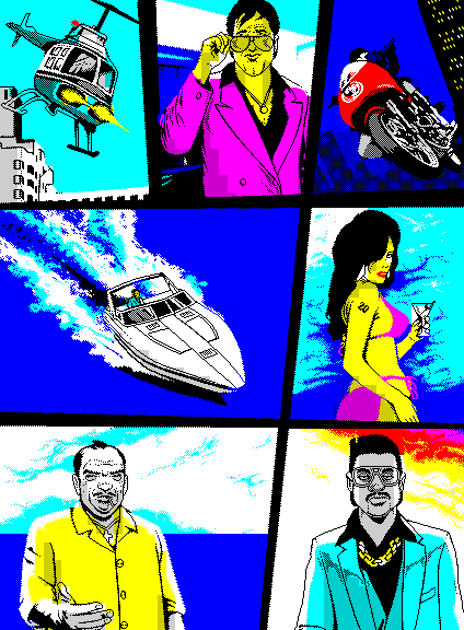 Edge 20th Anniversary ZX Spectrum GTA Vice City (Edge 20th Anniversary ZX Spectrum GTA Vice City)