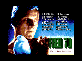 FRED 70 Titlescreen