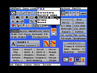 SAM PaintMenu (SAM PaintMenu)