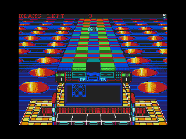 Klax Gamescreen