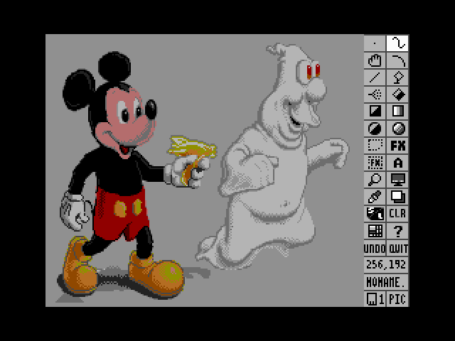 GrafX - Mickey