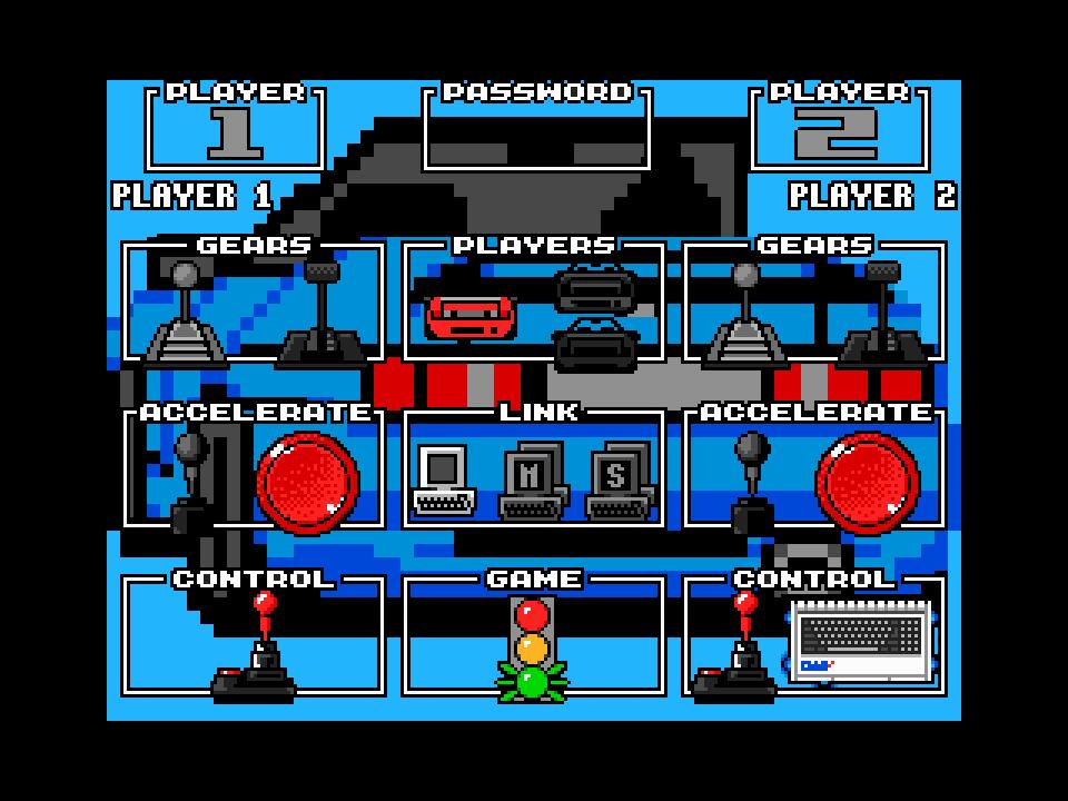 Car Game Panel