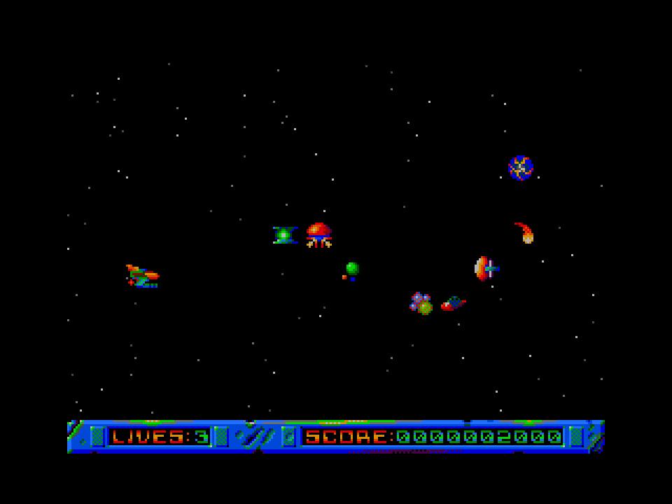 Parallax Gamescreen
