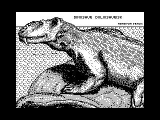Dinosaur Doliosaurisk (Dinosaur Doliosaurisk)