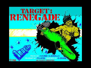 Target: Renegade (Target: Renegade)