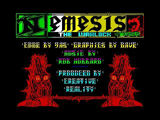 Nemesis the warlock ingame 3 (Nemesis the warlock ingame 3)