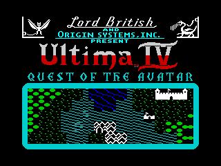 Ultima IV Mockup (Ultima IV Mockup)