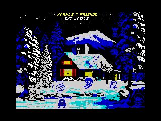 Horace & Friends Ski Lodge
