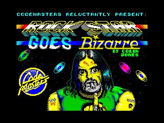 Rock Star Goes Bizarre