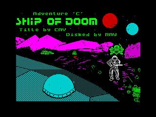Adventure C: Ship of Doom
