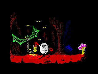 Dizzy5 Cave scene (Dizzy5 Cave scene)