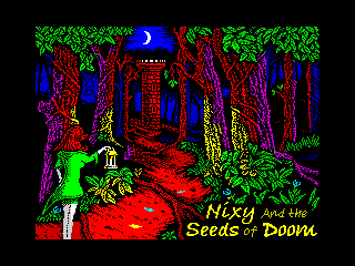 Nixy and the Seeds of Doom (Nixy and the Seeds of Doom)