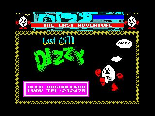 Last Will Dizzy (Last Will Dizzy)