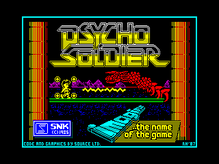 Psycho Soldier Color Final (Psycho Soldier Color Final)