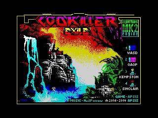 Godkiller Exile menu (Godkiller Exile menu)
