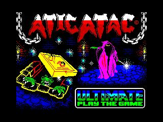 Atic Atac C64 (Atic Atac C64)