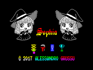 Sophia V1.1 menu screen  (Sophia V1.1 menu screen )