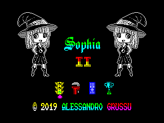 Sophia II menu screen (Sophia II menu screen)