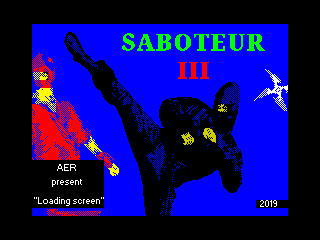 Saboteur 3 Loading Screen 2 (Saboteur 3 Loading Screen 2)