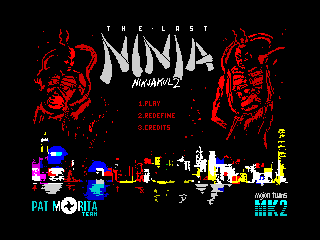 Ninjakul 2 - The Last Ninja - Menu (Ninjakul 2 - The Last Ninja - Menu)