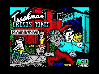 Trashman Crisis Time (Trashman Crisis Time)