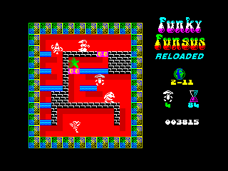 Funky Fungus Reloaded In-game (Funky Fungus Reloaded In-game)