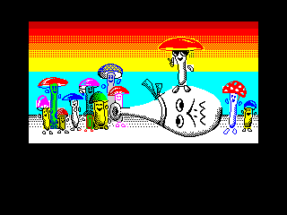 Funky Fungus Reloaded Victory Screen (Funky Fungus Reloaded Victory Screen)