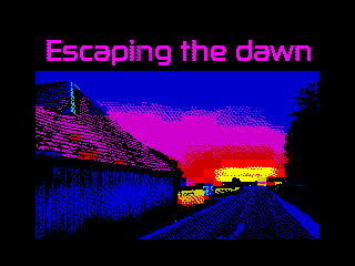 Escaping the Dawn (Escaping the Dawn)