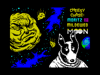 Cheesy Chase: Moritz and the Mildewed Moon (Cheesy Chase: Moritz and the Mildewed Moon)