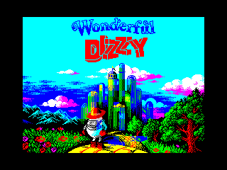 Wonderful Dizzy: Menu