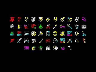 Wonderful Dizzy: items (Wonderful Dizzy: items)