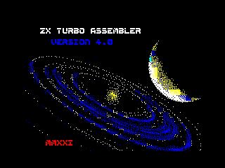 ZX Turbo Assembler v4.0 Logo 1 (ZX Turbo Assembler v4.0 Logo 1)