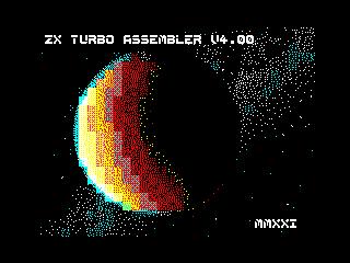 ZX Turbo Assembler v4.0 Logo 2 (ZX Turbo Assembler v4.0 Logo 2)