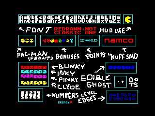 Pac-Man ZX Graphics (Pac-Man ZX Graphics)
